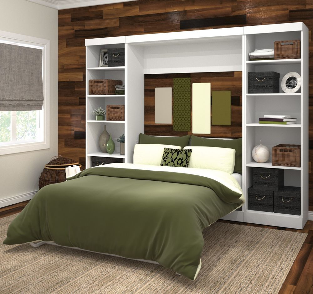 full size murphy bed kit wall storage unit bookcase on wall beds id=17237