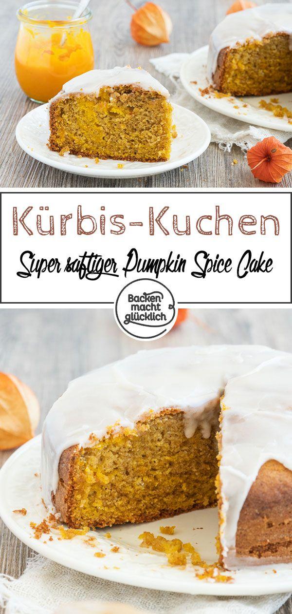 Saftiger Pumpkin Spice Kuchen | Backen macht glücklich