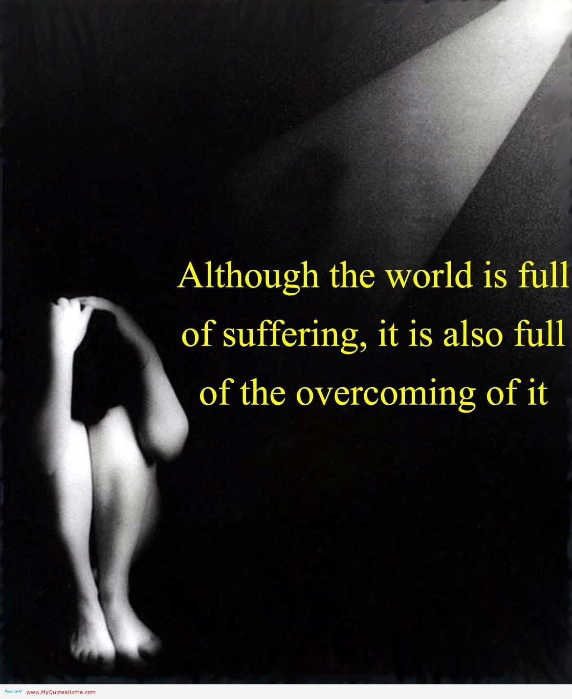 Overcoming Depression Quotes Gorgeous Overcoming Depression Quotes  Our World Is Full Of Suffering