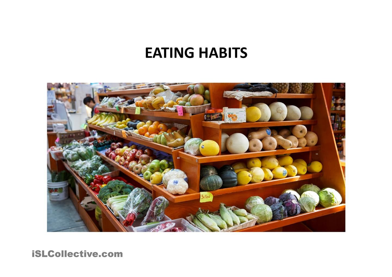 Eating Habits Questions