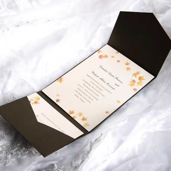 17 Best images about wedding invitations – Autumn Wedding Invitations Cheap