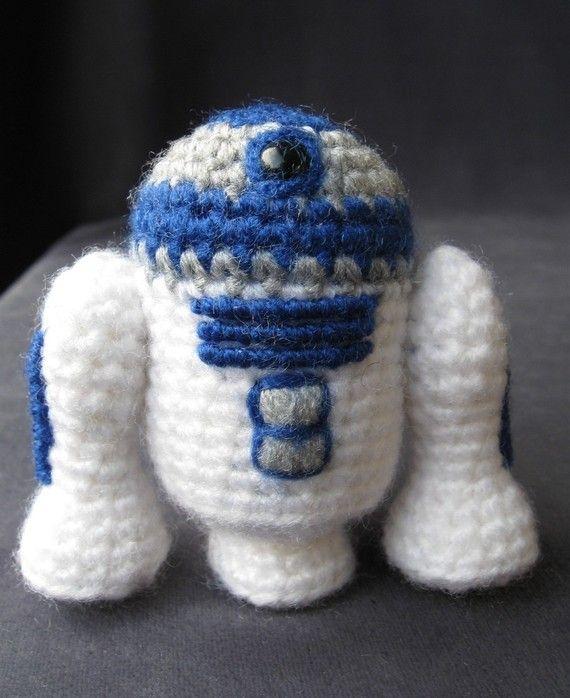 PDF of R2-D2 - Star Wars Mini Amigurumi Pattern 3.50 | personajes ...