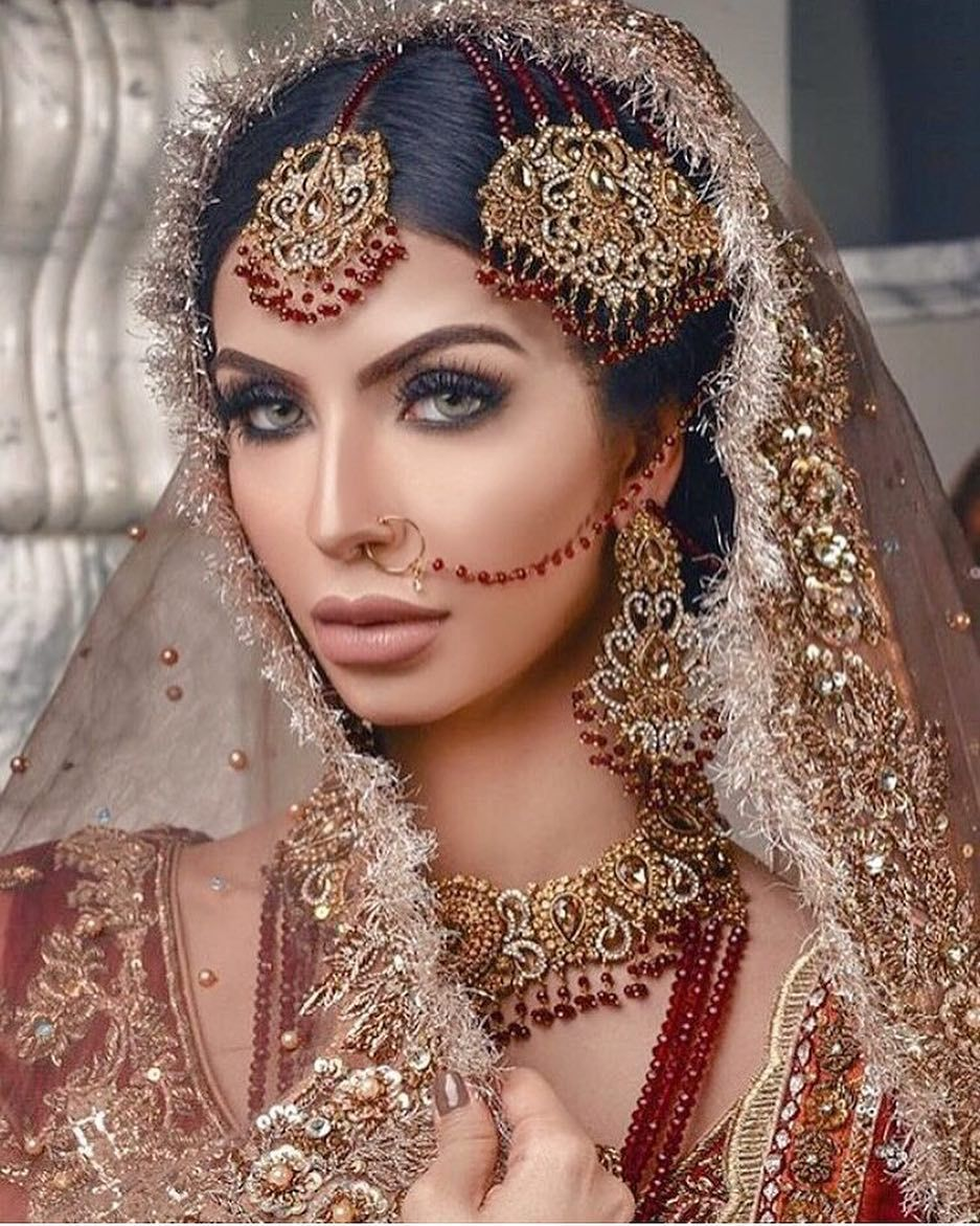 Pin by Michelle Ramos on Makeup Pakistani bridal jewelry