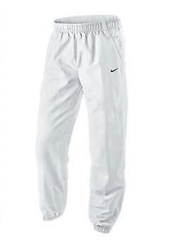 2f01cfaa5 NIKE CLASSIC ESSENTIAL MENS CUFFED TRACKSUIT PANTS BOTTOMS WHITE SIZE L XL