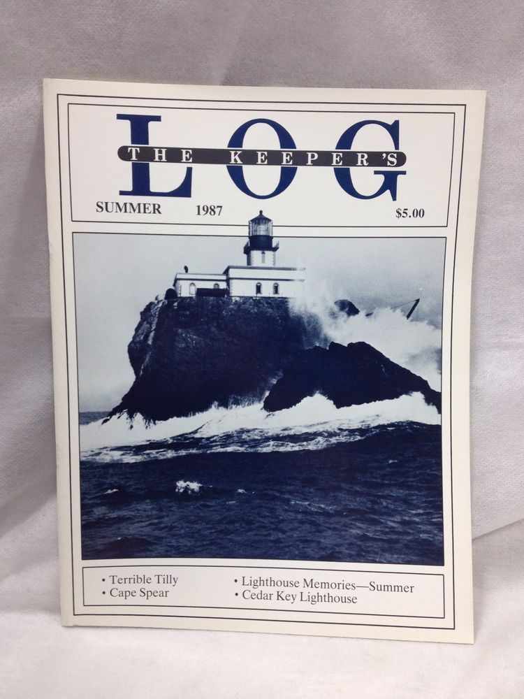 The Keeper's Log US Lighthouse Society Magazine Summer 1987