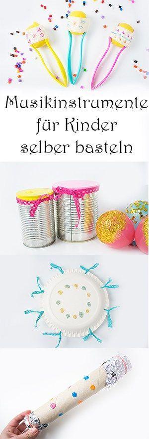 Photo of Lag musikkinstrumenter for barn selv – MamaKreativ