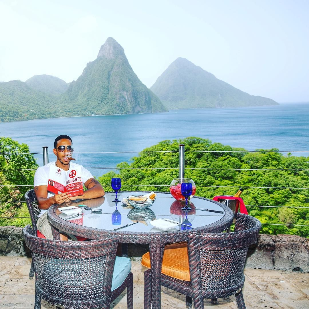 Ludacris Visits Soufriere Locals | Ludacris, Jade mountain and ...