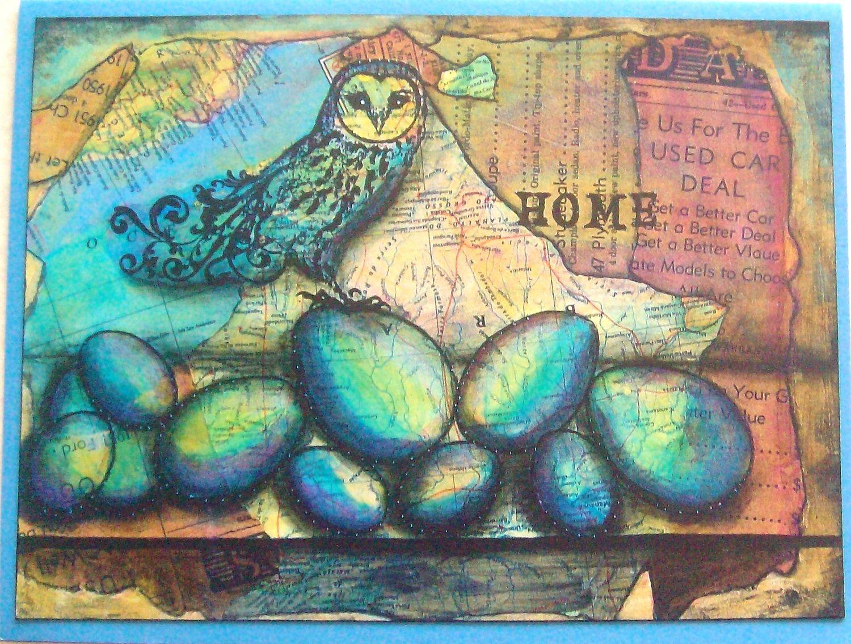 """Home"" art print"
