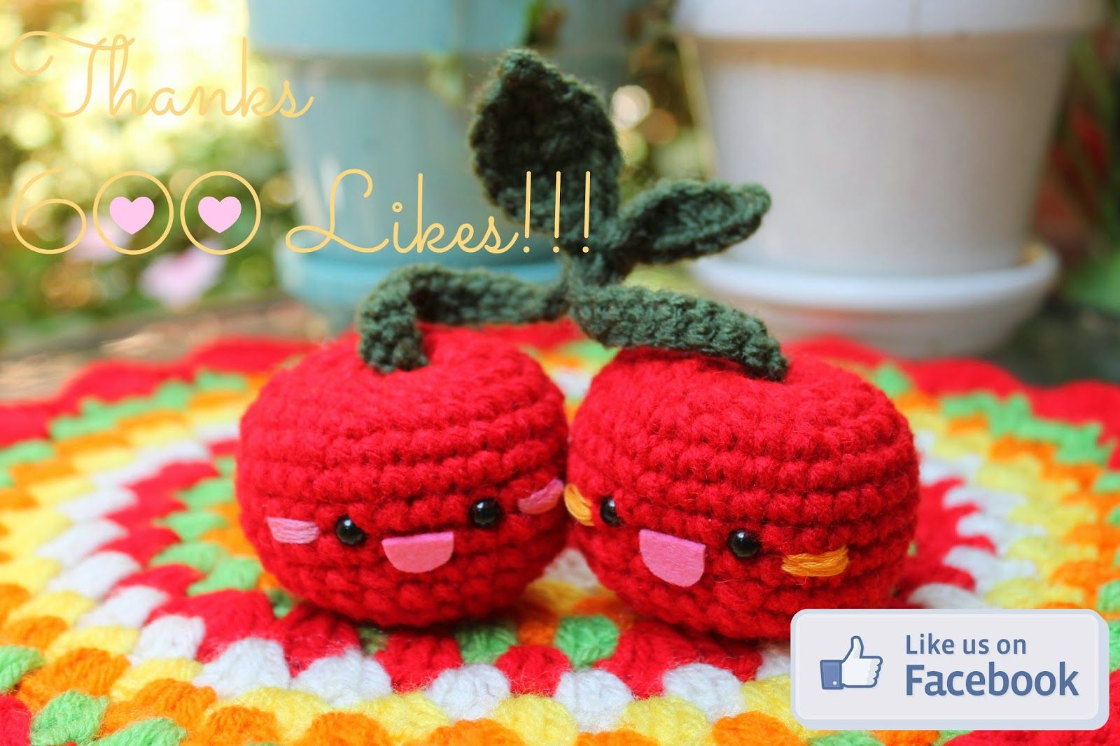 Amigurumi food free pattern amigurumi food pinterest free pattern crochet food cherries in love amigurumi food bankloansurffo Choice Image