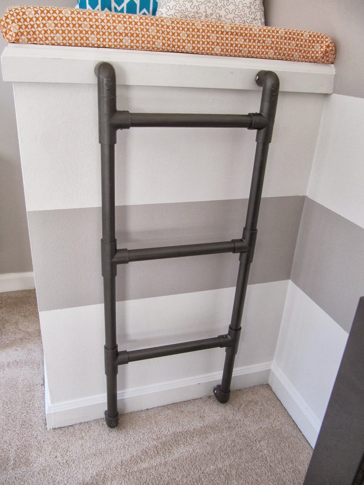 Metal Ladder Wall Mounted Google Search For The Home