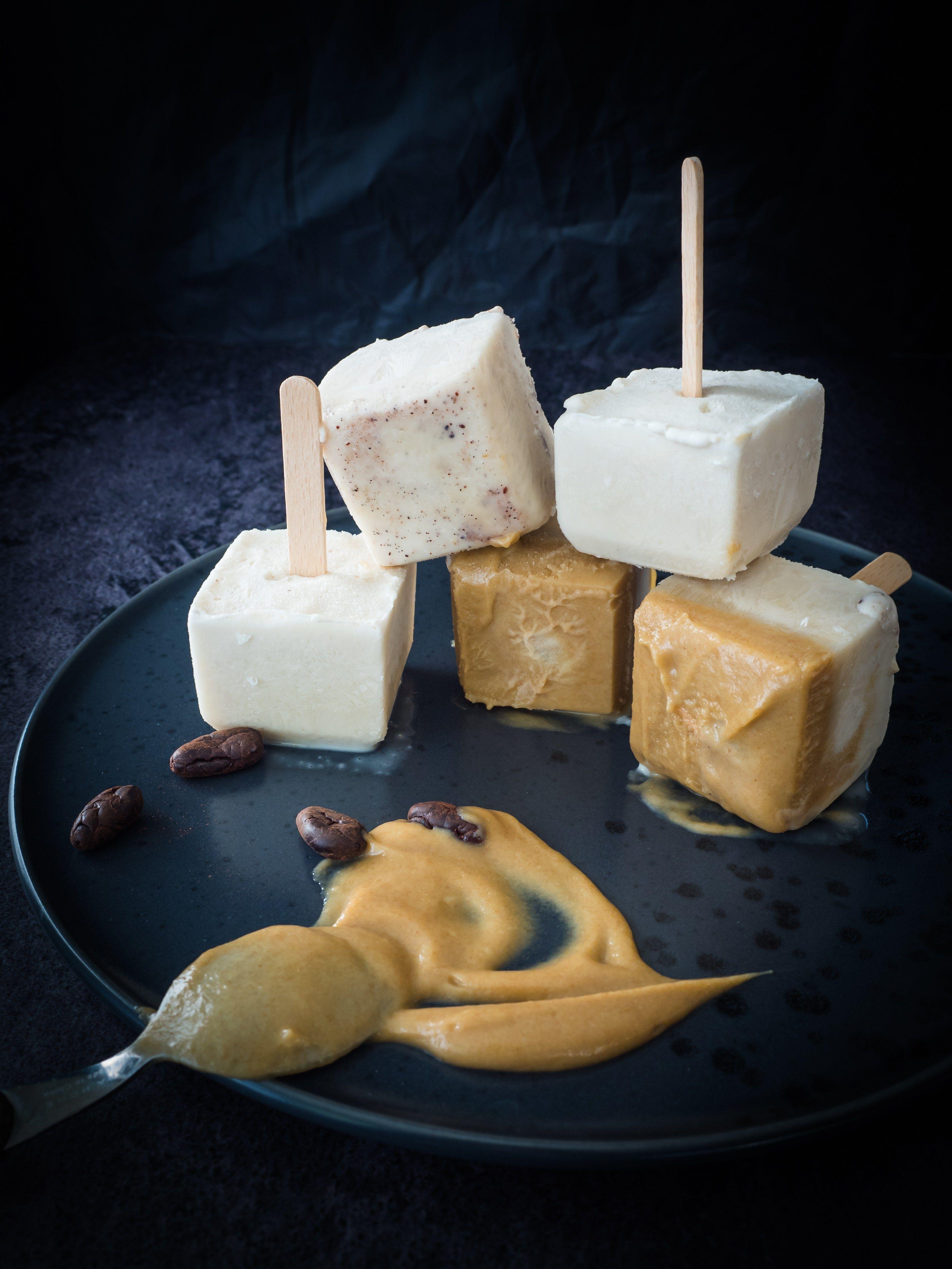 Kokos Kardamom Ice Cream Pops | Vegane nachtischrezepte