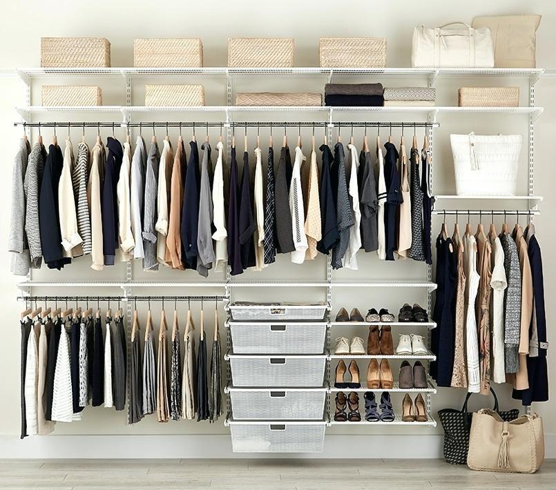 Installing Elfa Closet System in 2020 | Custom closet ...