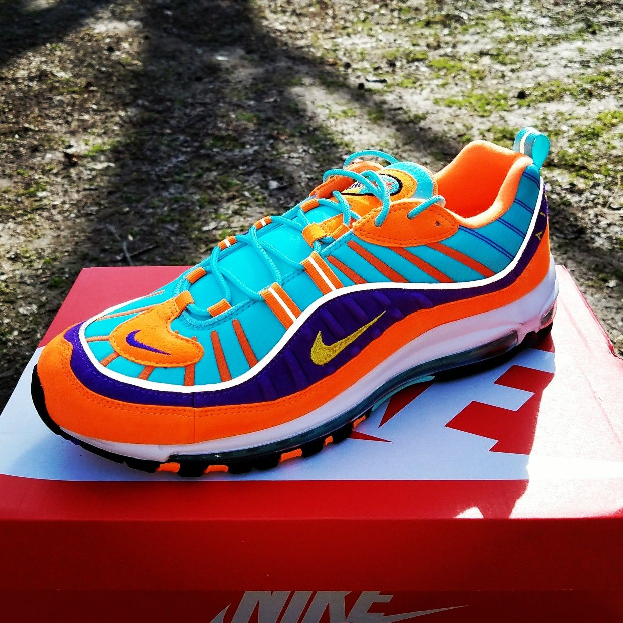 online retailer 821b0 91257 2018 Nike Air Max 98 Cone/Rugrats | Nike Shoes | Nike shoes ...