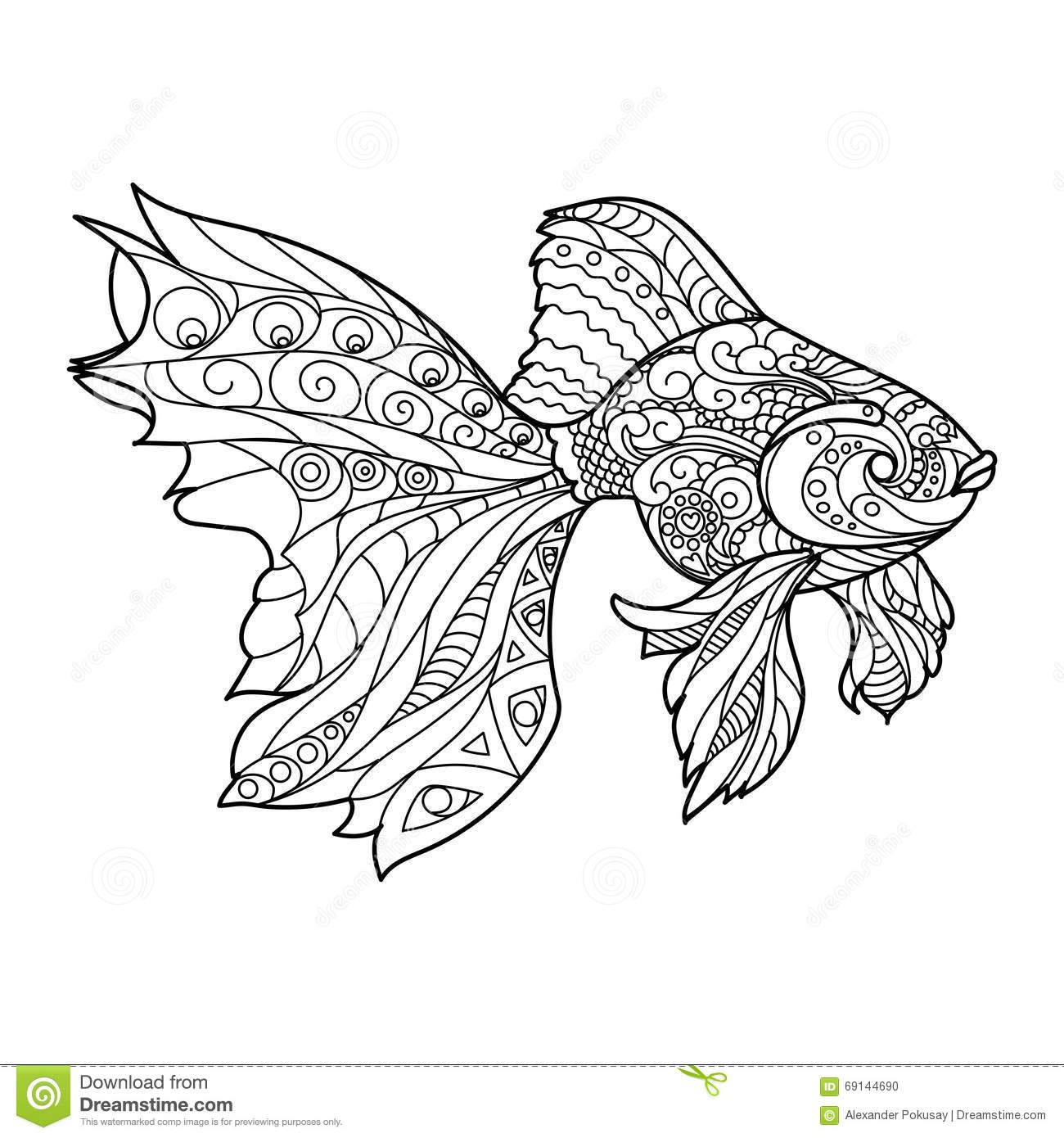 Livro de colorir para adultos pesquisa google colorir Hawaiian Fish Coloring Pages for Adults Fishy Coloring Pages printable fish pictures