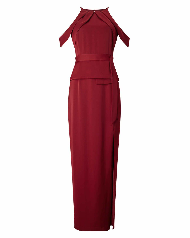 Phase eight amail full length dress red wardrobe dream pinterest