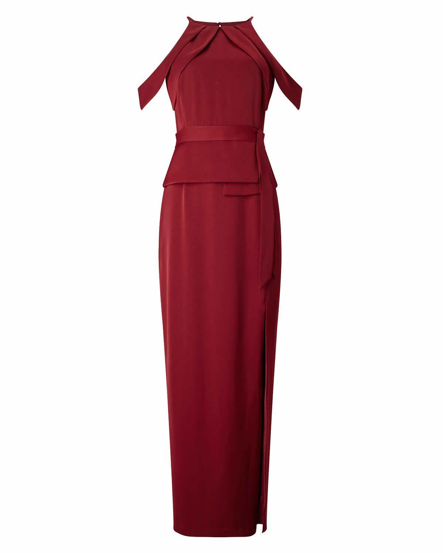 Phase Eight Amail Full Length Dress Red   Red dress   Pinterest