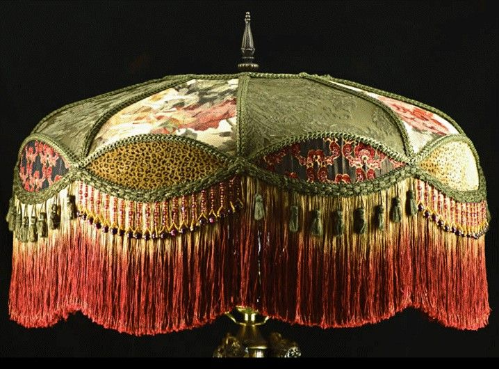 Victorian Lampshades Handmade Interesting Lampshades