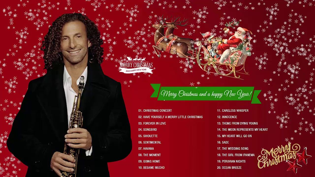 Kenny G Christmas.Kenny G Christmas Songs 2019 Kenny G The Greatest Holiday