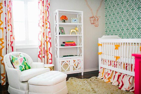 Hollywood Regency Inspired Nursery From Baby By Design