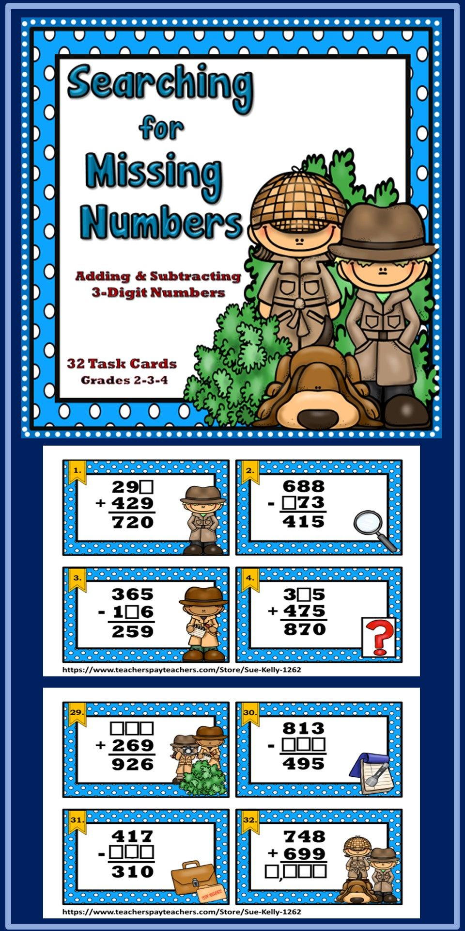 Pin by Sue Kelly on My TPT | Subtraction, Addition and ...