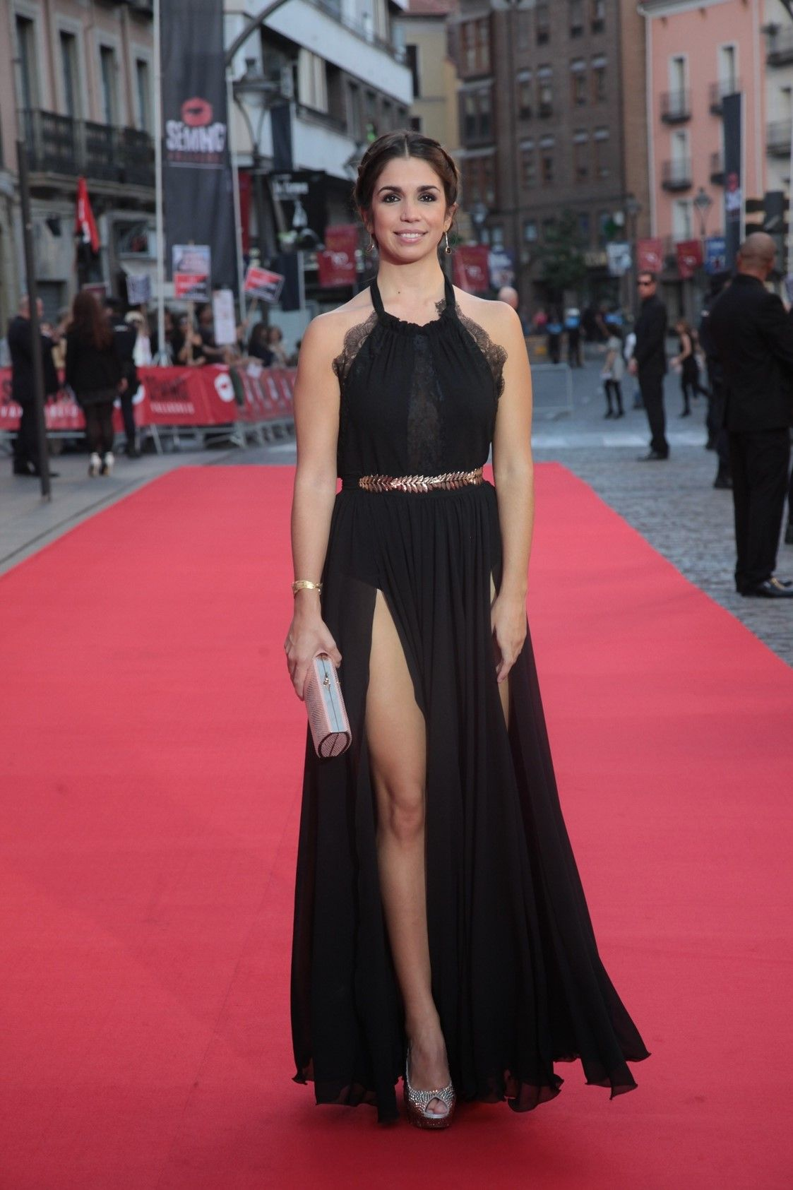 Elena Furiase. SEMINCI 2014. | CELEBRITIES wearing ROCÍO MOZO ...