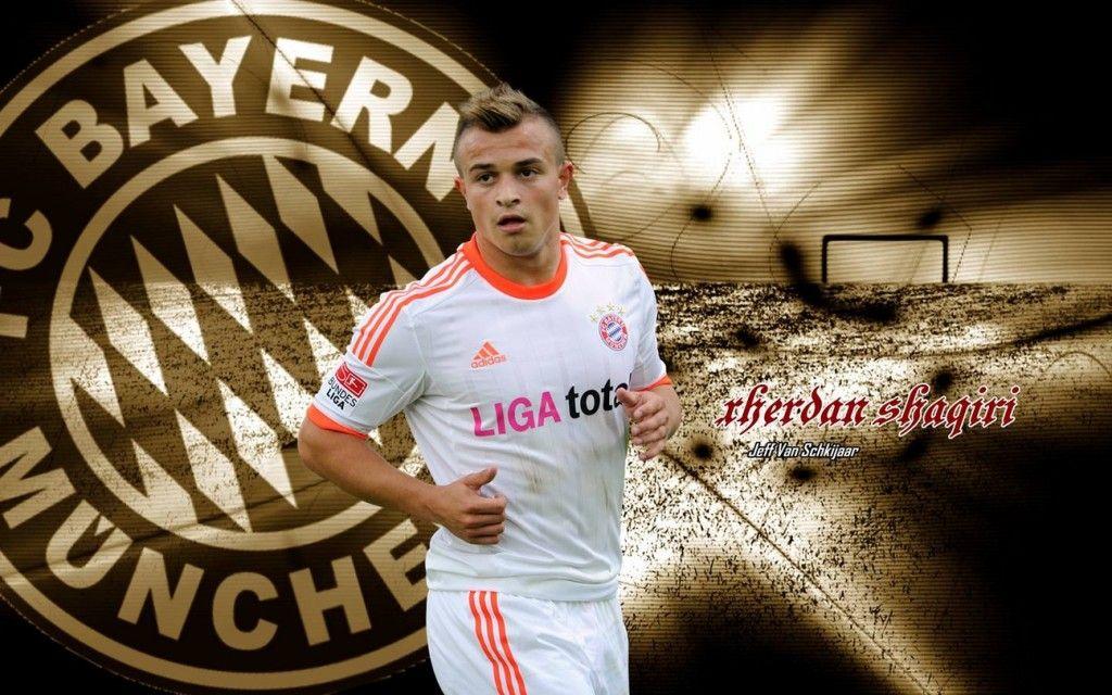 Xherdan Shaqiri Bayern Munich 2012 2013 Hd Best Wallpapers Bayern Bayern Munich Mens Tshirts
