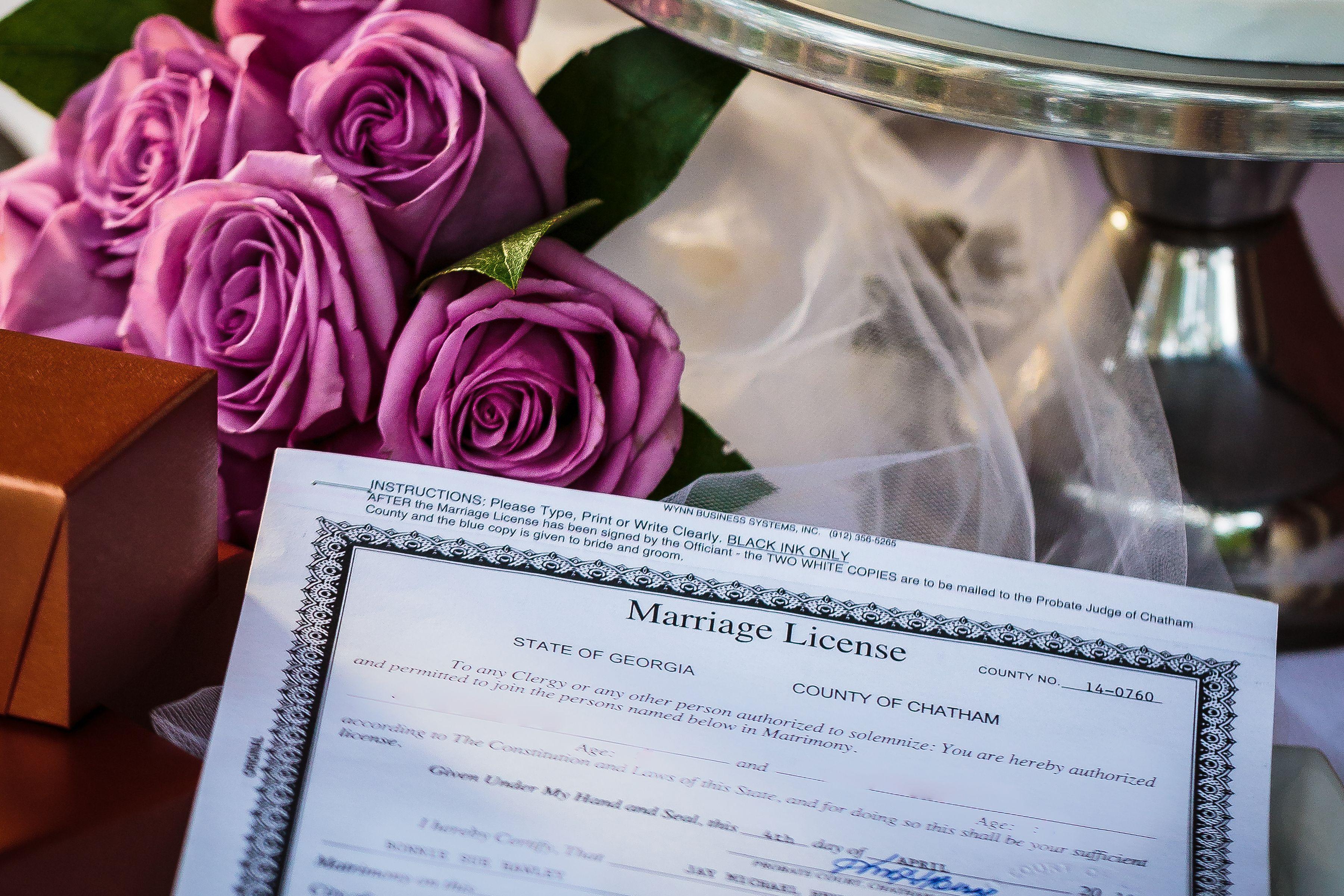 savannah georgia marriage license requirements