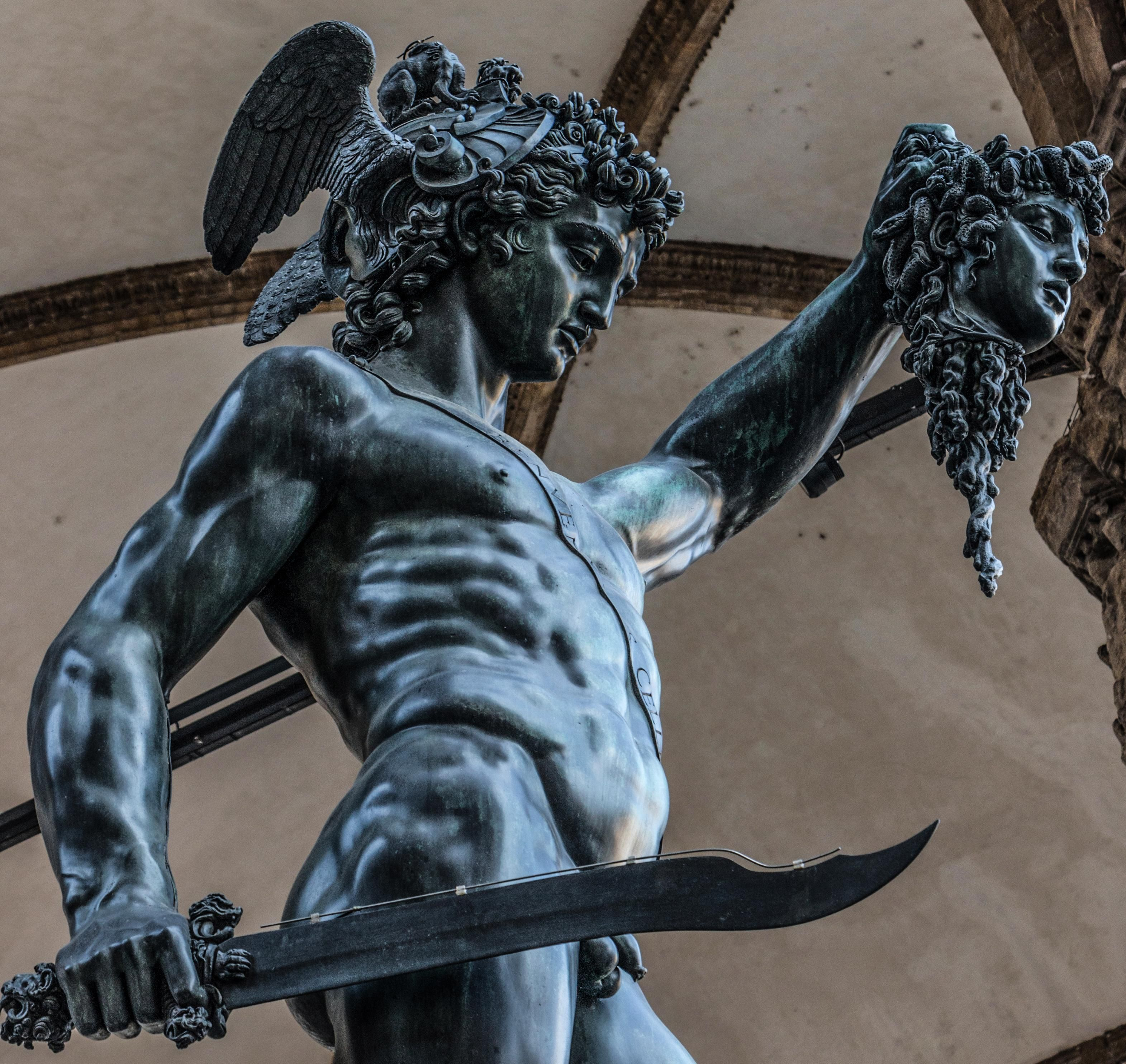Perseus With the Head of Medusa Photograph by Zinvolle Art  |Perseus With The Head Of Medusa Painting
