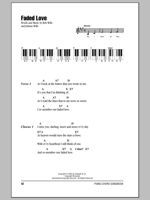 Country Search - Piano