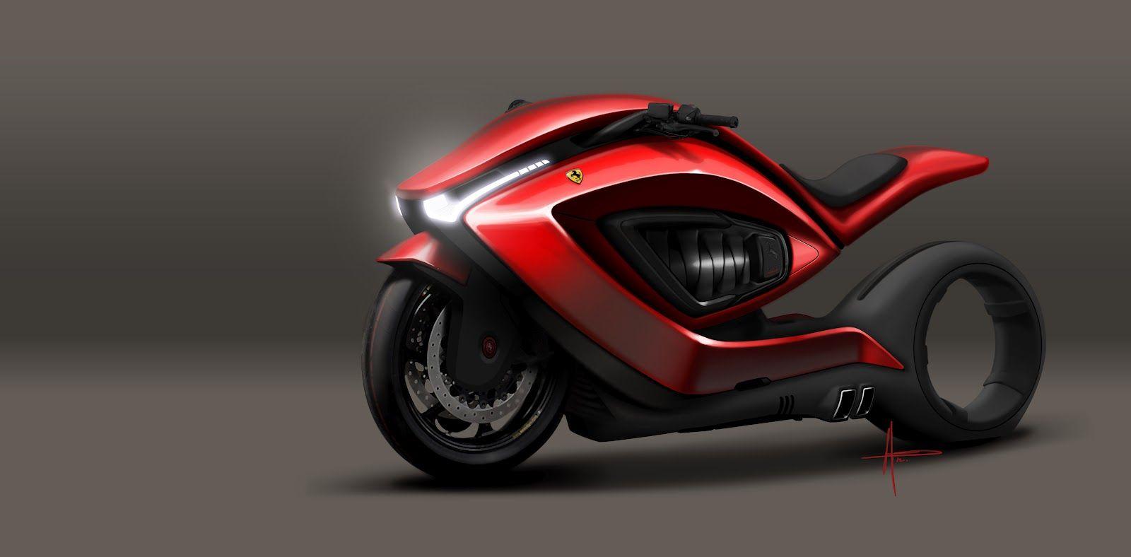 Ferrari Motorcycle Test Ferrari Motorcycle
