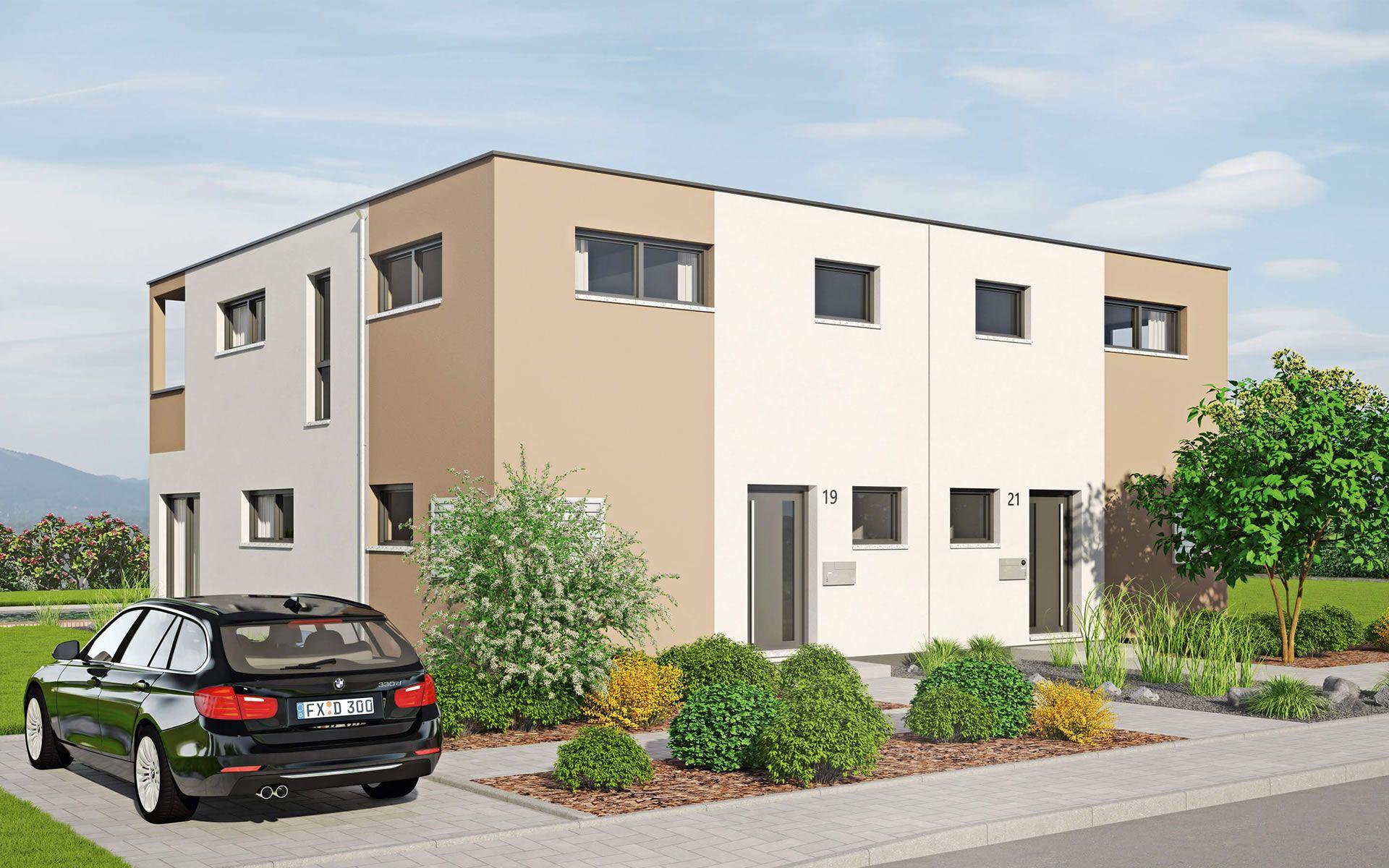 Musterhaus Duett 129 von Fingerhut Haus GmbH & Co. KG