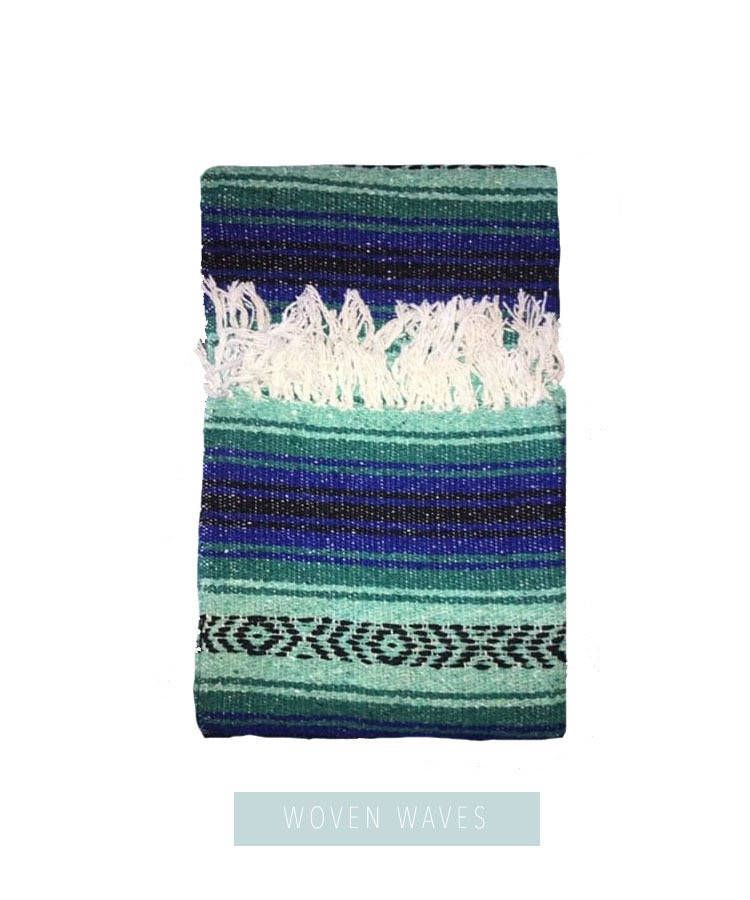 Mexican Blanket Beach Southwest Print Serape By Wovenwaves On Etsy