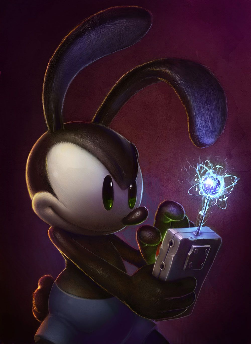 Oswald concept from Epic Mickey 2: The Power of Two   T   Pinterest ...