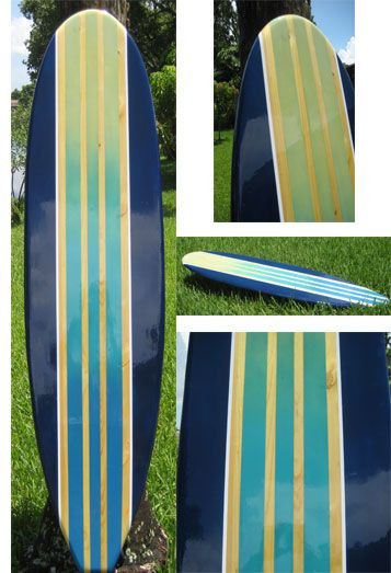 TIKI SOUL DECORATIVE SURFBOARD ART - Deep Surfboard decor, beach ...