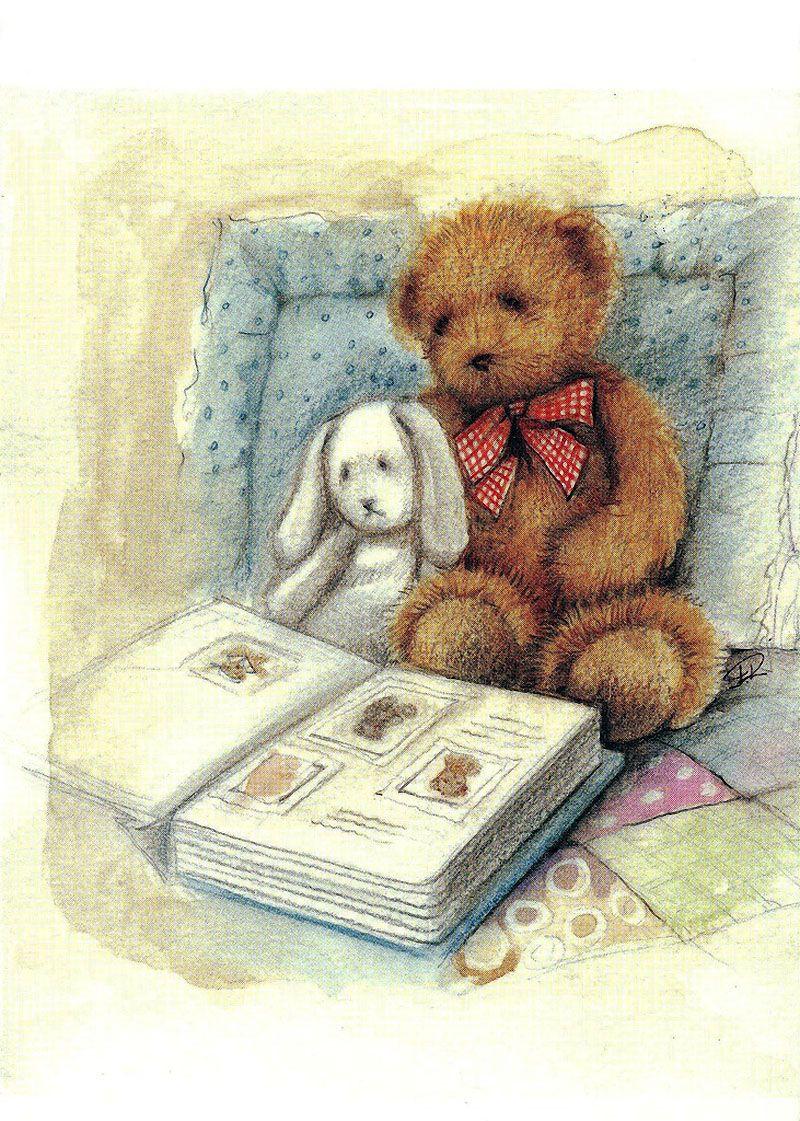 Картинки, открытки мишками