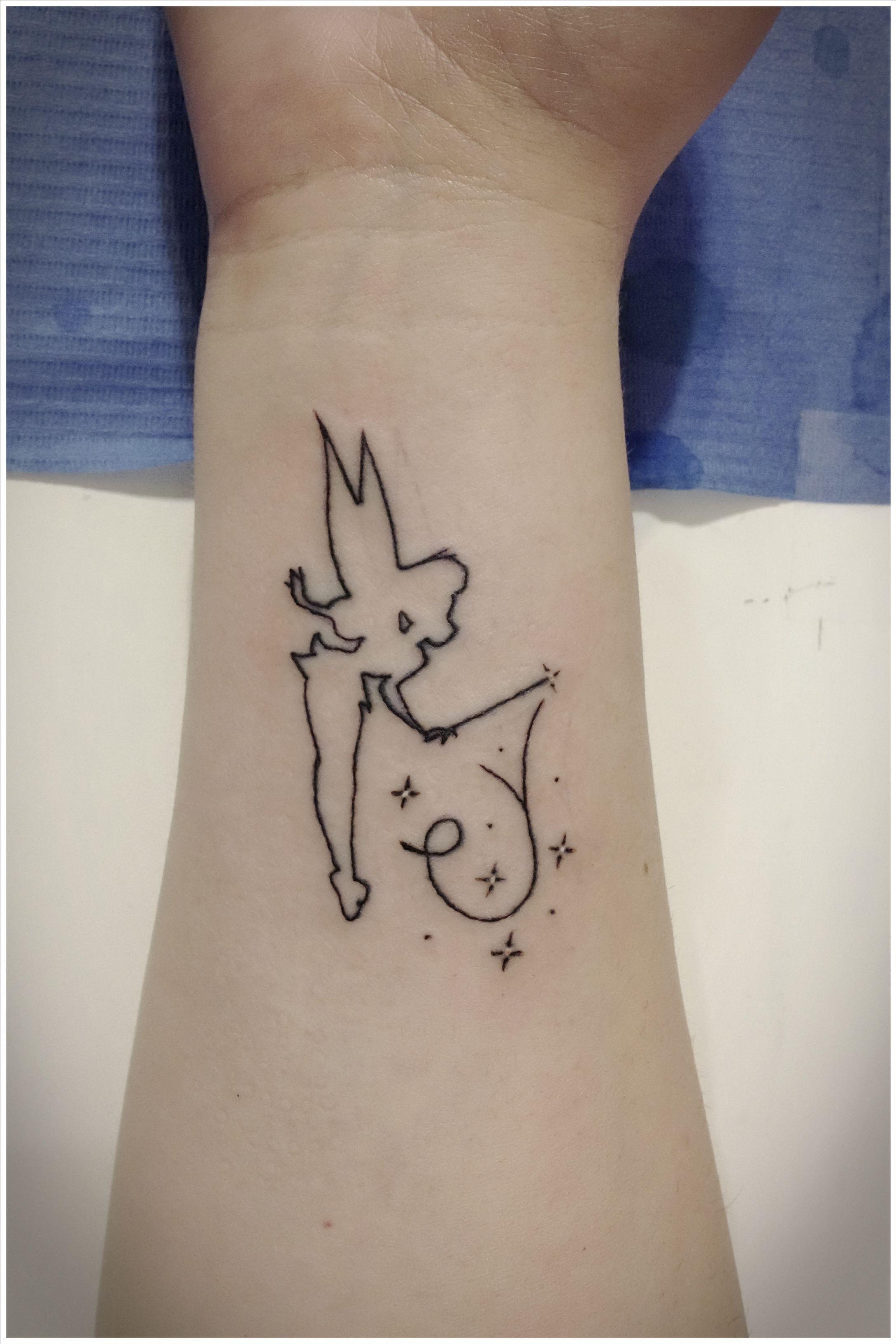 Amor De Primas Campanilla Disney Tattoo Koerperschmuck Kronen