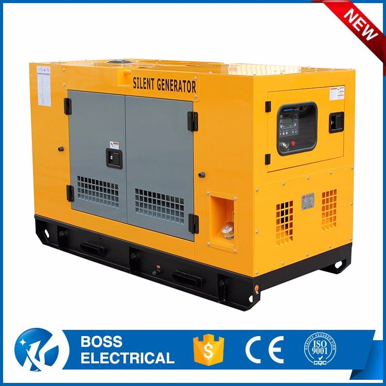 5 5kva Silent Diesel Generator Set With Yanmar Engine 1500rpm