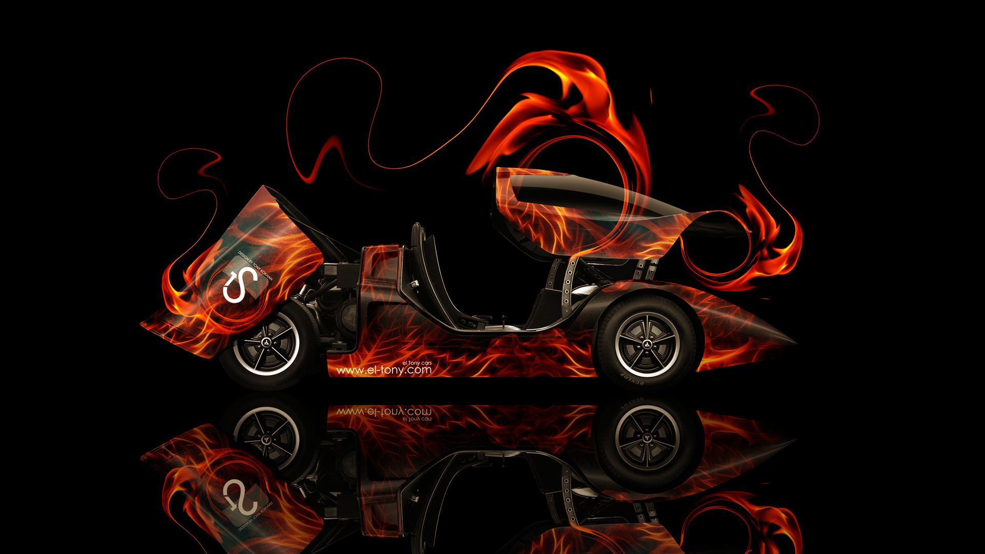 Exceptional Holden Hurricane Fire Abstract Car 2014