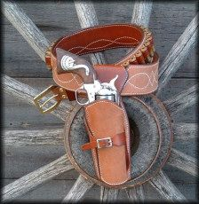 Eastwood Cowboy Fast Draw Holster - quick draw modified rig