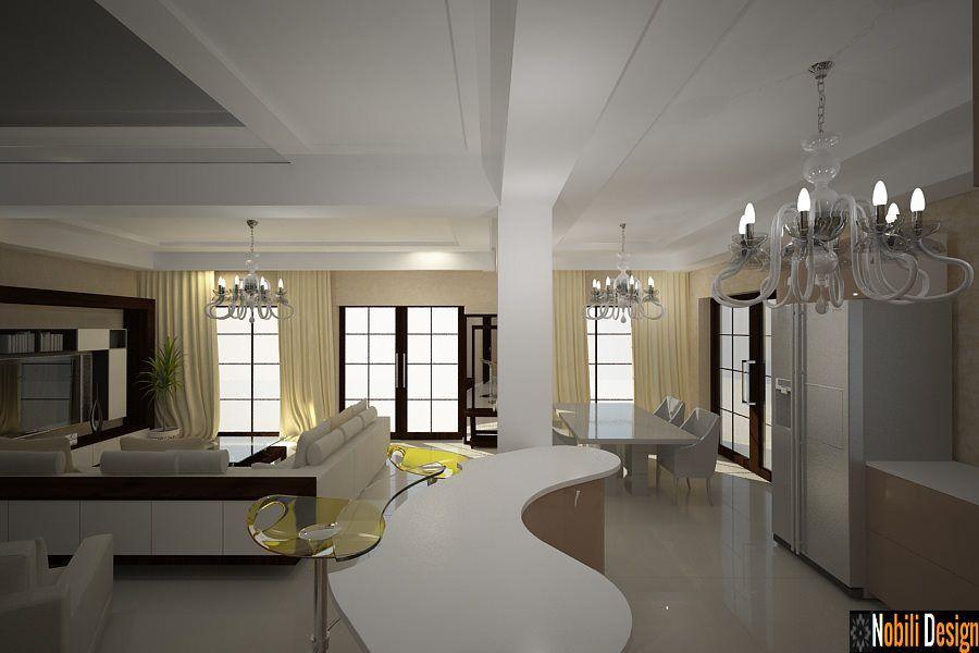 Design interioare living case vile moderne| Proiecte design