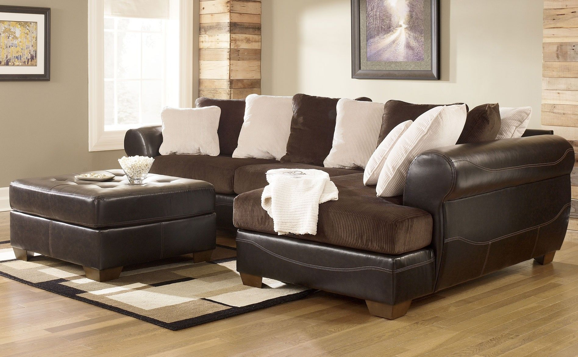 Ashley furniture sectionals ashley victory sectional for Photo furniture home