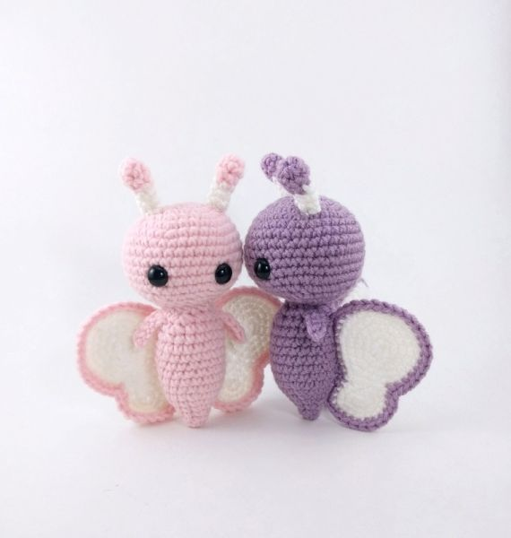Butterfly Friends amigurumi pattern by Theresas Crochet Shop ...