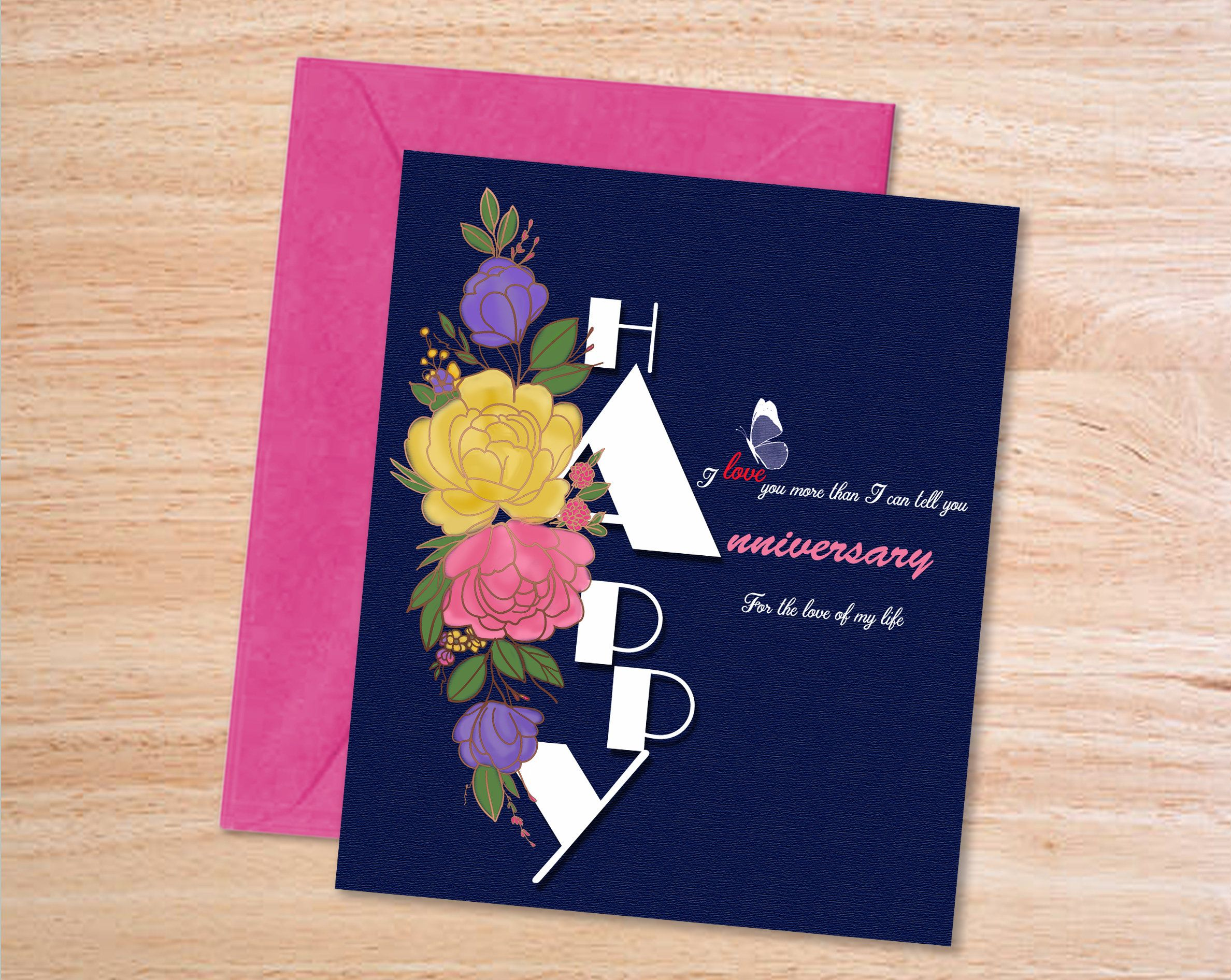 Printable Anniversary Card Digital Wedding Anniversary For Etsy Printable Anniversary Cards Anniversary Cards Happy Anniversary Cards