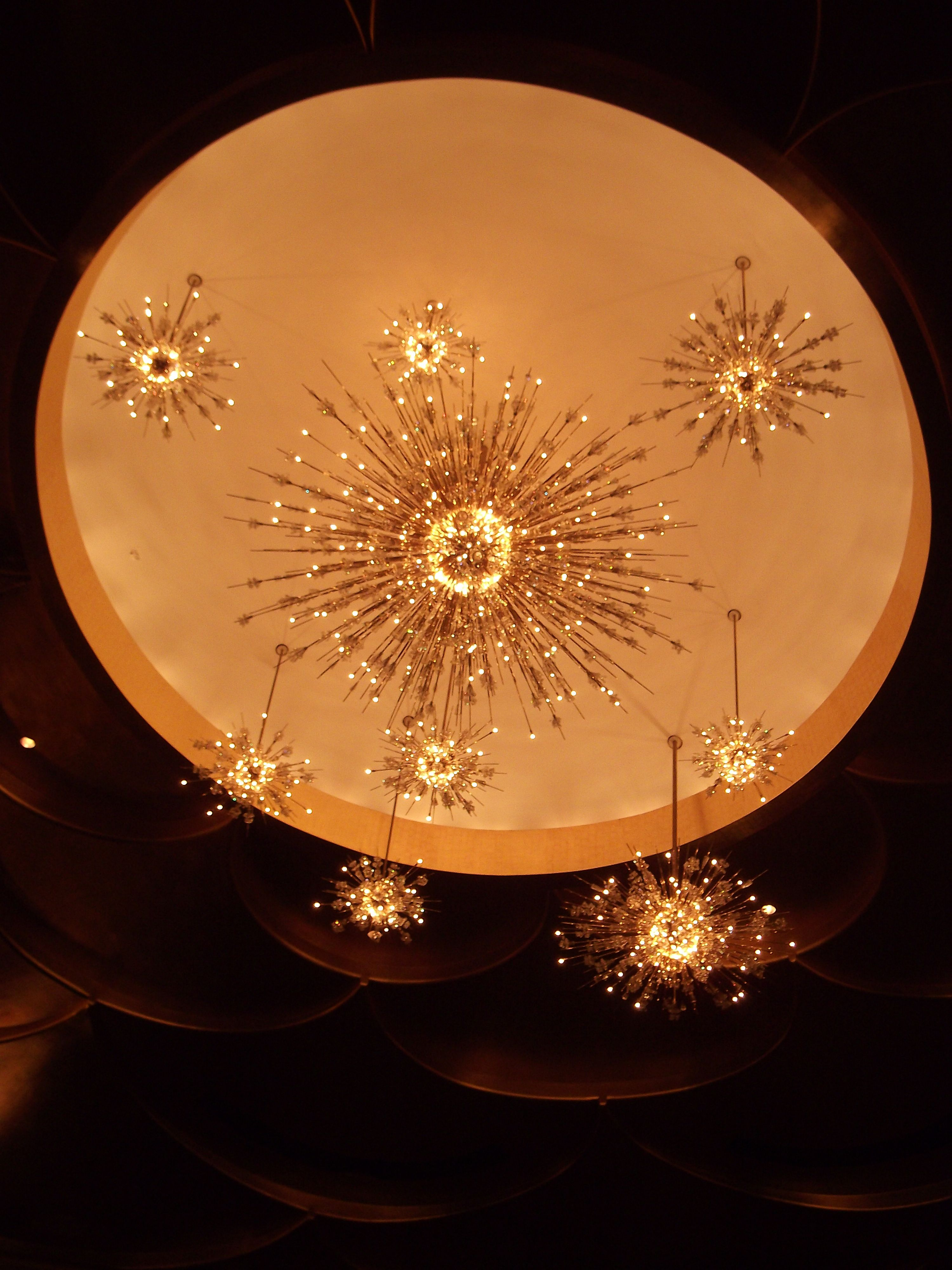 Meteor Chandelier Metropolitan Opera NYC Flou
