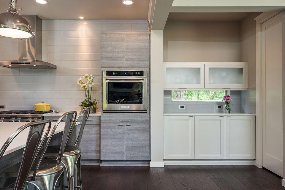 Latitude Cabinets Moda Textured Laminate Barnside