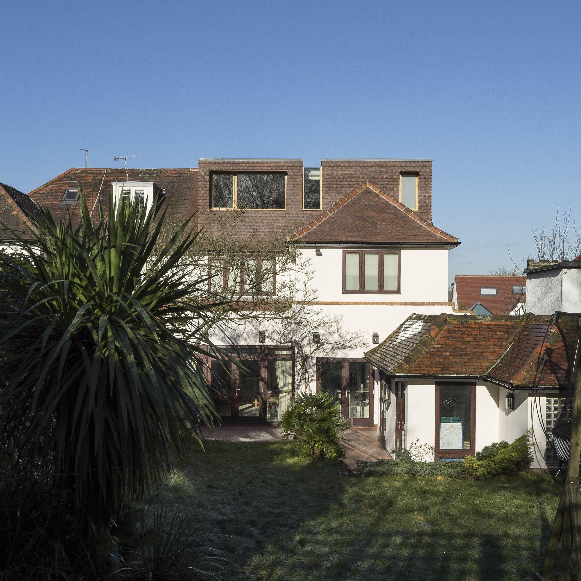 Gallery Of Finchley Loft Satish Jassal Architects 1 Loft Conversion Architecture Architecture House