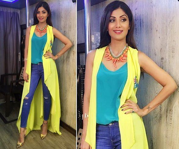 f16b2827c0 Shilpa Shetty's at Dance Reality Show 'Super Dancer', of which she's  co-judge, via @topupyourtrip