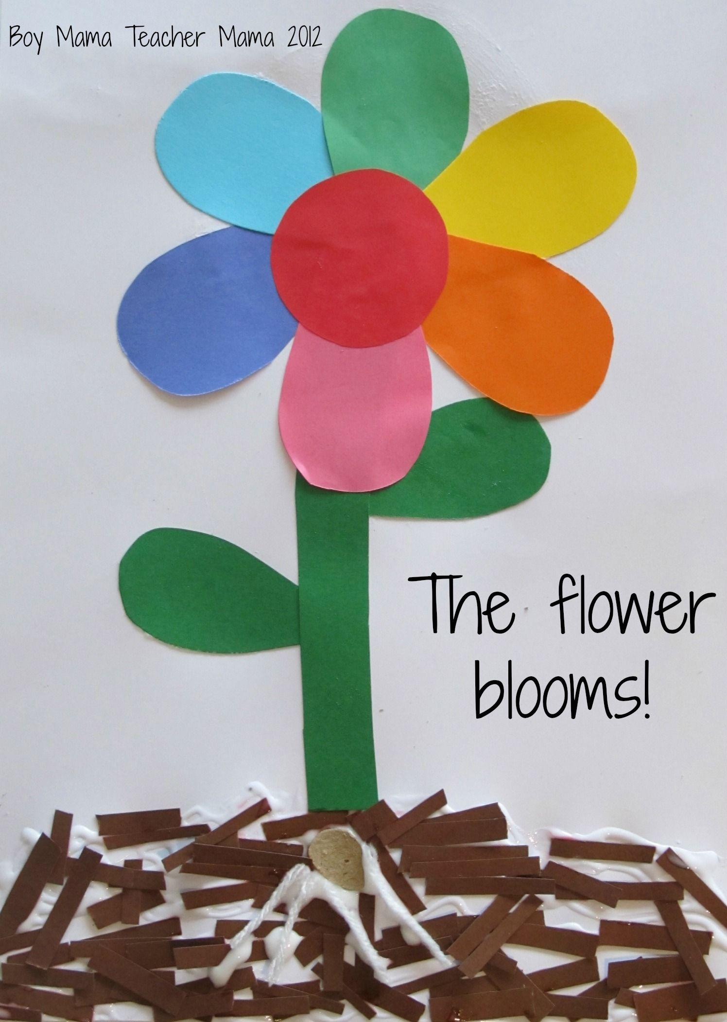 Boy Mama Teacher Mama: Planting a Rainbow inspired by Lois Ehlert