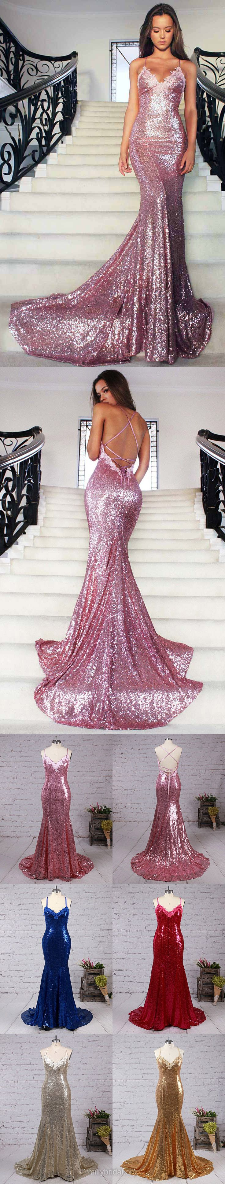 Prom dresses lace prom dresses sequined prom dresses long prom