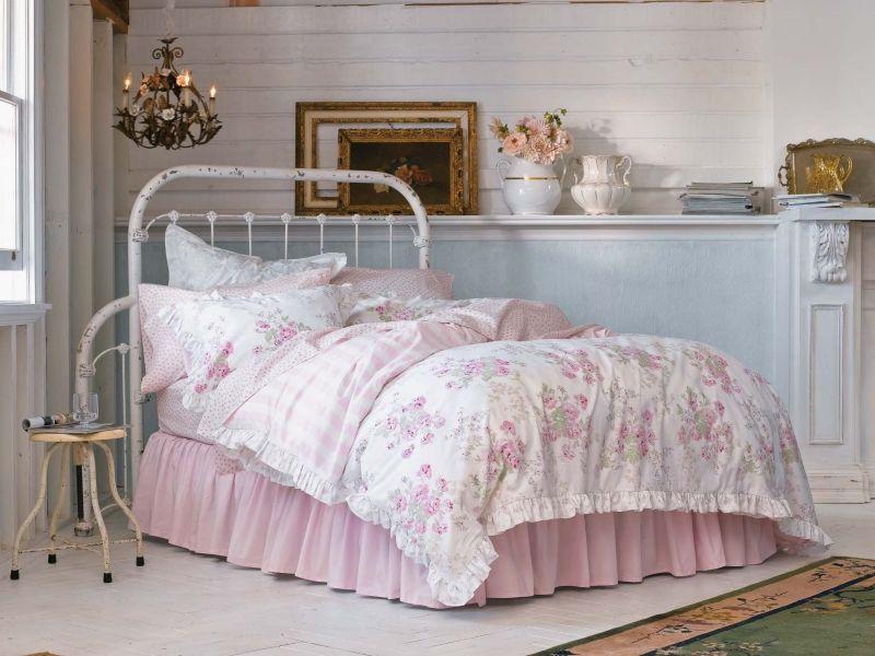 Shabby Style selber machen - Schlafzimmer einrichten Shabby - schlafzimmer einrichten rosa